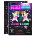 Dabbing Unicorn Birthday Invitation / Joint Party
