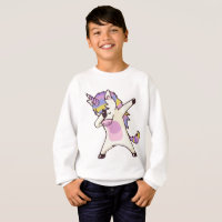 Dabbing Unicorn Sweatshirt