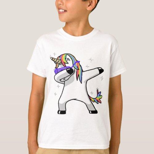 Dabbing Unicorn T_Shirt