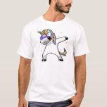 """Dabbing Unicorn T-Shirt<br><div class=""""desc"""">search bizzle for more designs or  www.bizzleapparel.spreadshirt.com www.bizzleapparel/zazzle.com</div>"""