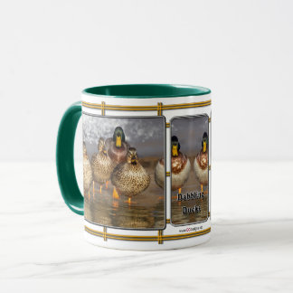 Dabbling Ducks Coffee Mug