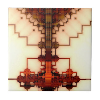 Dabbling with Geomectrics Ceramic Tile