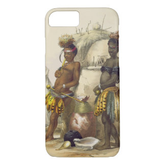 Dabiyaki and Upapazi, Zulu Boys in Dancing Dress, iPhone 7 Case