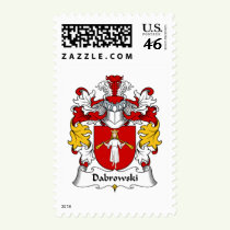 Dabrowski Family Crest Stamps