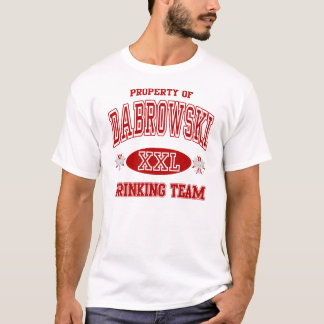 Dabrowski Polish Drinking Team t shirt