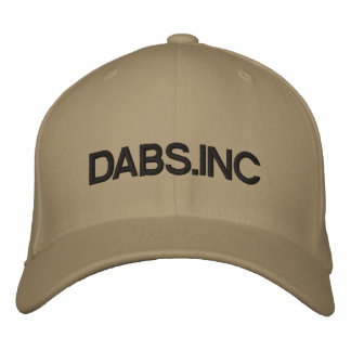 DABS.INC EMBROIDERED BASEBALL HAT
