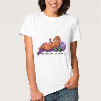 Dacchus Dog of Wine Tee Shirt