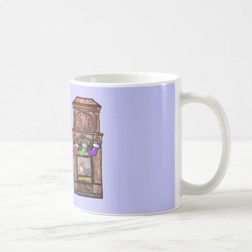 Dachshing all the way coffee mugs