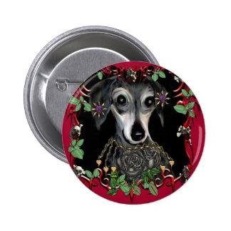 Dachshound Weiner Dog Button