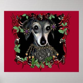 Dachshound Weiner Dog Poster