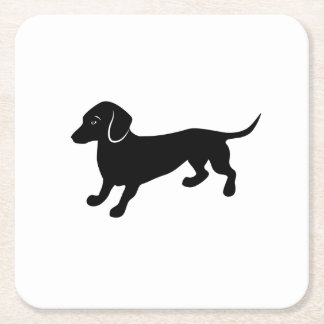 dachshund2.ai square paper coaster