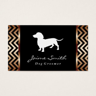 Dachshund 2 | Dog Groomer Business Card