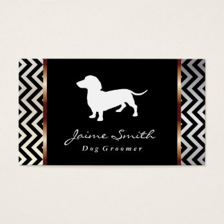 Dachshund 3 | Dog Groomer Business Card
