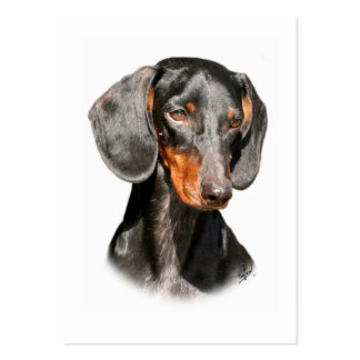 Dachshund 9Y420D-096a Large Business Cards (Pack Of 100)