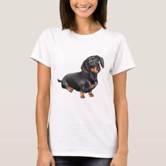 Dachshund (A) - Black and Tan T-Shirt