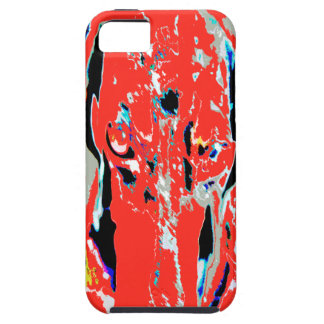 Dachshund abstracto iPhone 5 carcasas