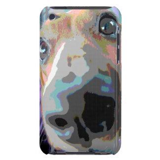 Dachshund abstracto iPod Case-Mate carcasas