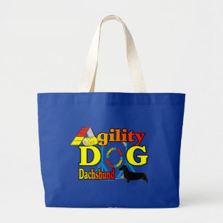 Dachshund_Agility Gifts Tote Bag