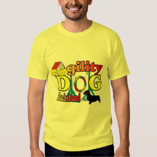 Dachshund_Agility Gifts T Shirt