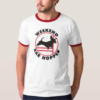Dachshund Agility Weekend Bar Hopper Shirt