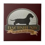 Dachshund [Alambre-haired] Azulejos Cerámicos
