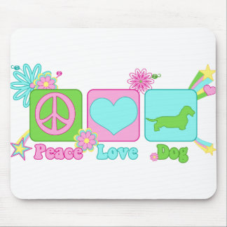 Dachshund [Alambre-haired] Mouse Pad