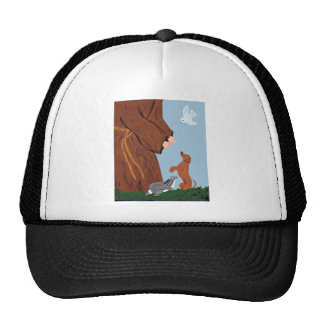 Dachshund And St. Francis Trucker Hat