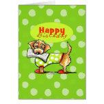 Dachshund Apples Happy Birthday Card