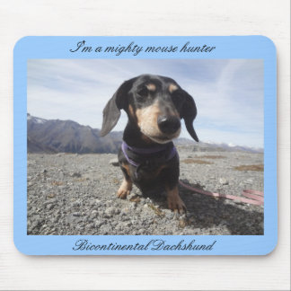 Dachshund-Approved Mouse Hunting Mousepad