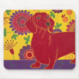 Dachshund Art Mouse Pad