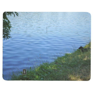 Dachshund At the Lake Photo Notebook