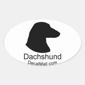 Dachshund Auto Window Decal Sticker