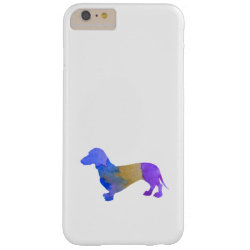 Case-Mate Barely There iPhone 6 Plus Case with Dachshund Phone Cases design
