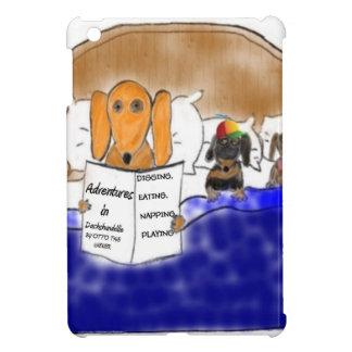 Dachshund Bedtime Story iPad Mini Cover
