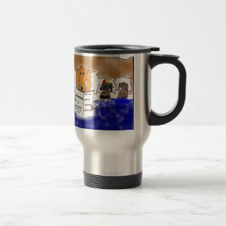 Dachshund Bedtime Story Travel Mug