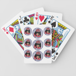 DACHSHUND BICYCLE PLAYING CARDS