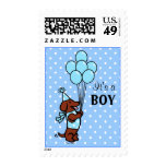 Dachshund Birth Announcement Postage