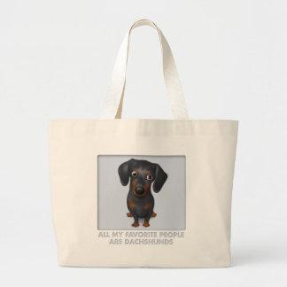 Dachshund (Black and Tan) Favorite Bag