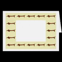 Dachshund Border cards