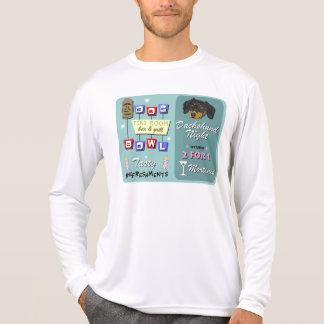 Dachshund Bowling Tiki Night Shirts