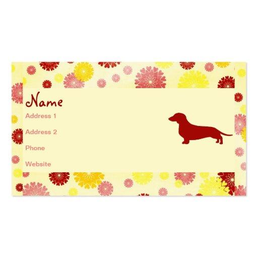 Dachshund Breeder Business Card