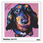 dachshund Bright Colorful Pop Dog Art Wall Graphics