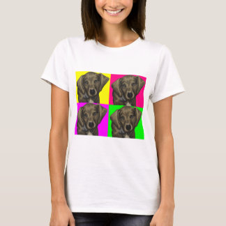 Dachshund Bright Dog Collage T-Shirt