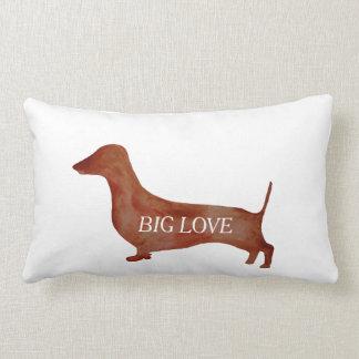 Dachshund Brown Dog Lumbar Pillow 33 cm x 53 cm