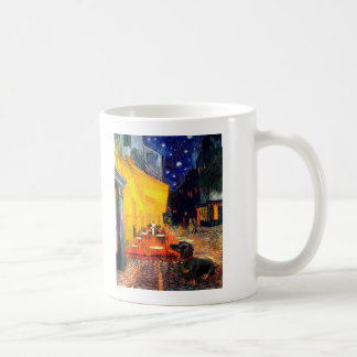 Dachshund (BT3) - Terrace Cafe Classic White Coffee Mug
