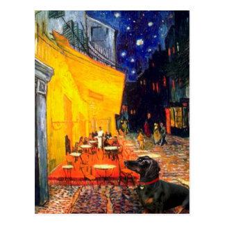 Dachshund (BT3) - Terrace Cafe Postcard
