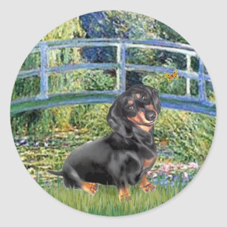 Dachshund (BT4) - Bridge Classic Round Sticker