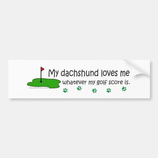 Dachshund Bumper Stickers