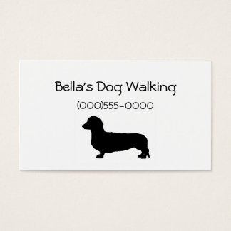 """Dachshund"" Business Cards"
