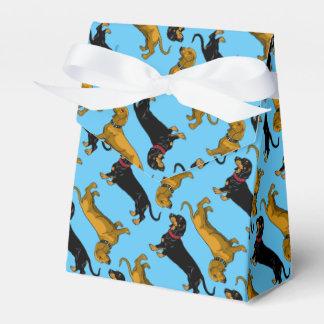 dachshund cajas para regalos